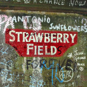 "Salvation army orphanage that lent its name to ""Strawberry Fields Forever"" by The Beatles."