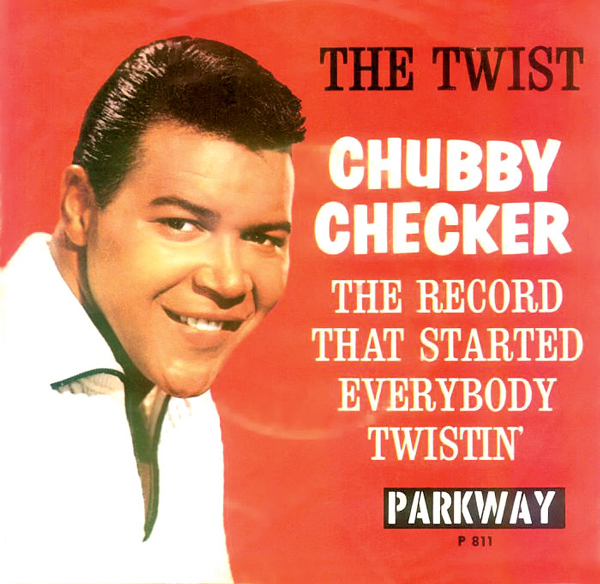 cover chubby checker the twist 1960
