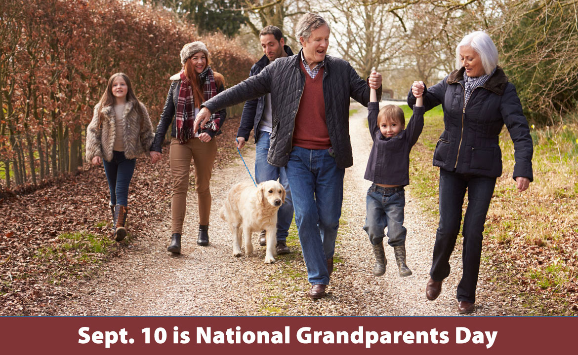 Sept. 10 is National Grandparents Day